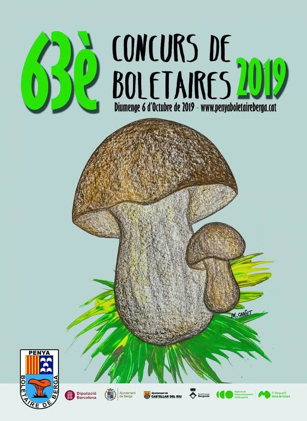 Cartell del Concurs de Bolets.