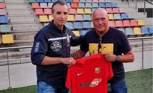 El exazulgrana Calderé deja el FC Santboià victima colateral del covid-19