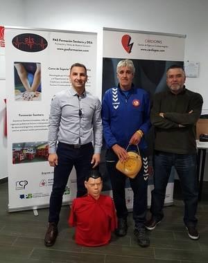 El Club Deportivo Marianao Poblet suma sus instalaciones a los espacios cardioprotegidos de Sant Boi
