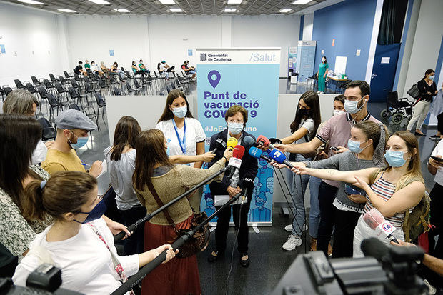 Salut inicia la vacunación intensiva de proximidad