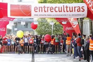 Carrera solidaria en el Parc Agrari del Baix Llobregat