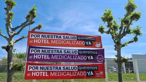 Sant Andreu de la Barca espera desde hace 20 días una respuesta de Salut para abrir el hospital de campaña contra el Covid-19