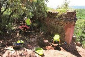 Nuevas excavaciones arqueológicas en el Castell d'Eramprunyà