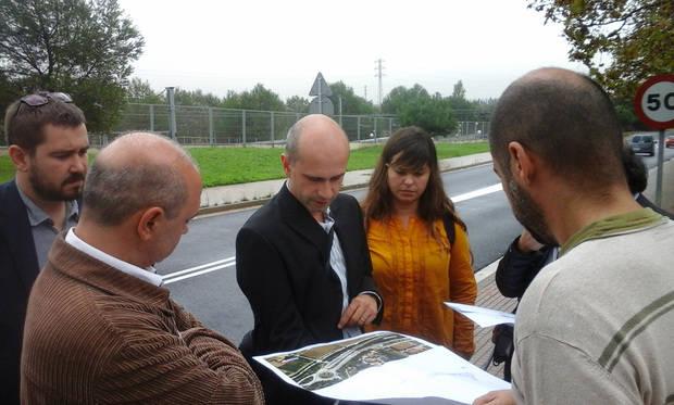 Sant Vicenç dels Horts i Santa Coloma de Cervelló estudien connectar els municipis amb un itinerari per vianants