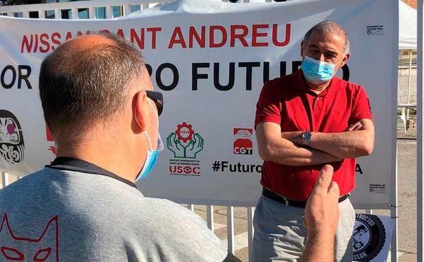Sant Andreu de la Barca lluitarà perquè els treballadors de Nissan no perdin la feina