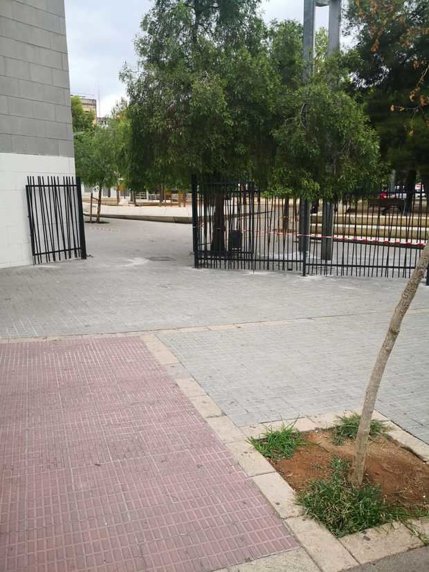 El Parque de los Pajaritos se mantendrá cerrado por las noches garantizando el descanso vecinal