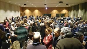 """Homenaje a la resistencia antifranquista del Baix en el estreno del documental """"El Cinturón Rojo"""""""