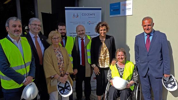 El 'Punto Incorpora' de la Zona Franca, el trampolín de la inserción laboral de personas con discapacidad en el marco industrial