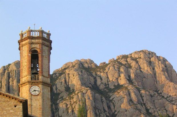 Collbató: Entrada a Montserrat