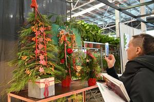 Mercabarna-flor presenta las tendencias de ornamentación navideña