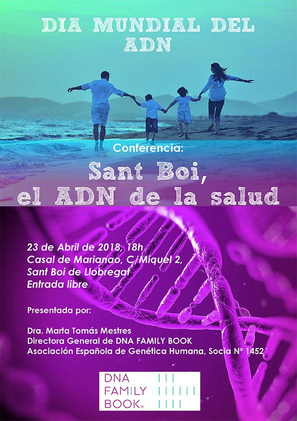 Sant Boi debate sobre la importancia del ADN en nuestra salud