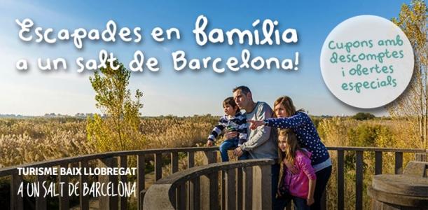 Vuelven los cupones para escapadas en familia por el Baix Llobregat