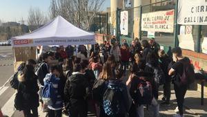 La huelga comenzó el 19 de febrero.