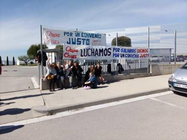 Los trabajadores de Chupa Chups ratifican el preacuerdo con la empresa