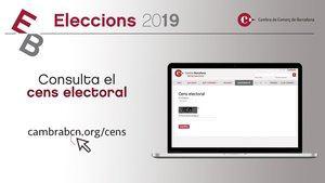 Las elecciones a la Cambra de Comerç finalizan hoy con el voto presencial