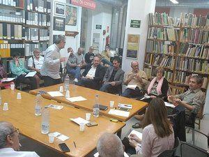 Todos los presentes en la reunión tuvieron oportunidad de intervenir.