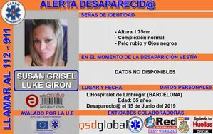 Buscan a una mujer desaparecida en L'Hospitalet