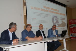 """San José: """"El soterramiento de las vías en Sant Feliu está en un punto de no retorno"""""""