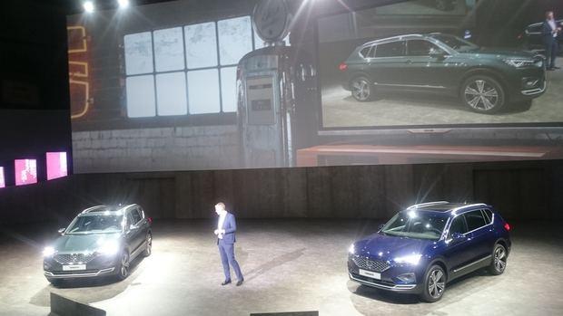 Presentación mundial del vehículo en Tarragona.