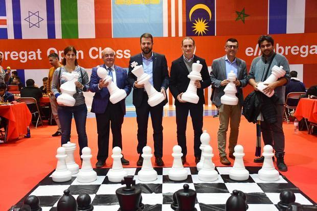 Gerard Figueras, secretario de Deportes de la Generalitat: 'La primera edición de El Llobregat Open Chess está dejando el listón muy alto'