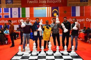 El Béisbol Viladecans visita El Llobregat Open Chess en una intensa cuarta jornada