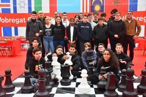 El ajedrez se acerca a los jóvenes en la octava jornada de El Llobregat Open Chess