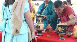 Sant Boi empieza la fiesta romana Ludi Rubricati