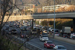 8M: Cortes en arterias principales dificultan la movilidad en superficie tanto de vehículo privado como de autobuses