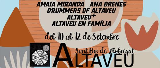 Del 10 al 12 de septiembre llega la 32.ª edición del Altaveu