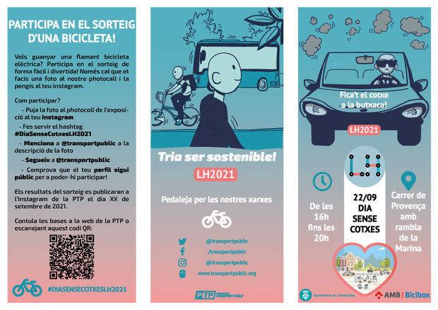 Fomentando el desplazamiento saludable y sostenible celebra L'Hospitalet la Semana Europea de la Movilidad