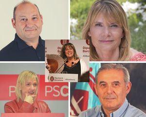 Esplugues, Sant Boi y Viladecans aglutinan el poder en la Diputación