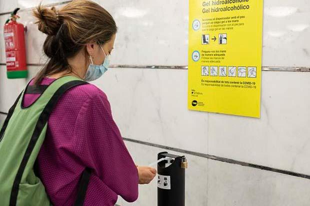 Las medidas de seguridad permiten que los usuarios vuelvan al metro en la fase 1