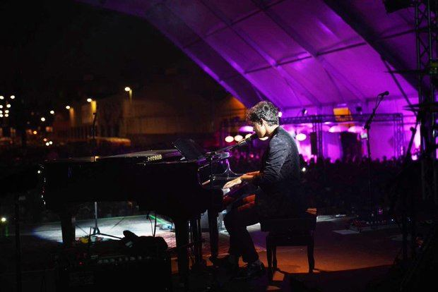 Alfred triunfó en su concierto del sábado.