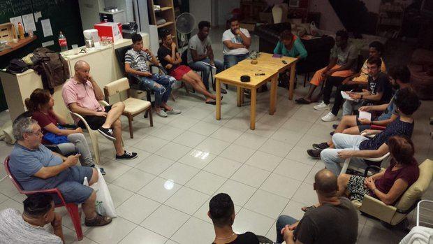 El encierro de inmigrantes se trasladó a La Púa a finales de verano.