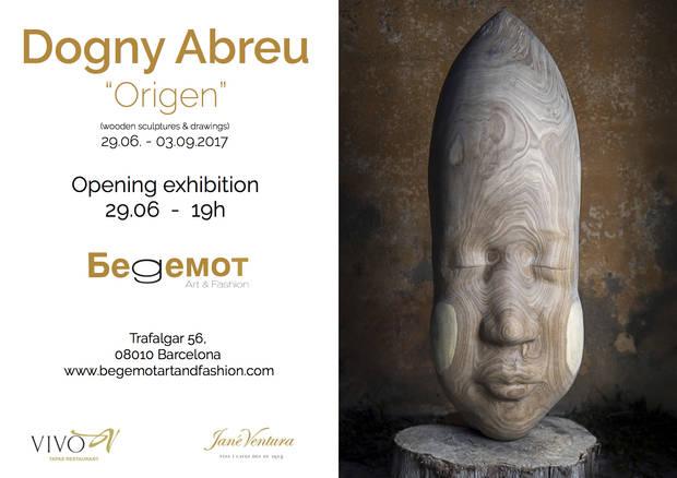 Dogny Abreu presenta su nueva exposición 'Origen'