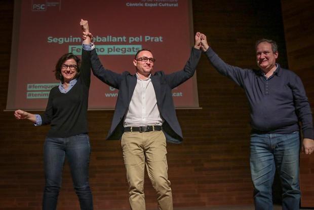El PSC reivindica sus años en el gobierno de Tejedor y se postula como 'única opción factible' para El Prat