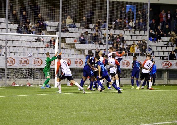 El Hospi casi elimina al Granada de la Copa.