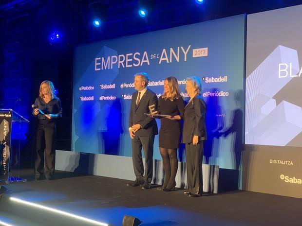 Los premios Empresa del Año galardonan a la directora del Consorci de la Zona Franca