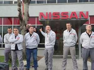 Los trabajadores de Nissan vuelven a salir a la calle para garantizar el futuro de las fábricas