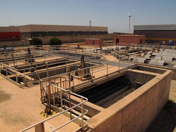 La depuradora del Llobregat mejora su capacidad de respuesta ante un supuesto caso de sequía