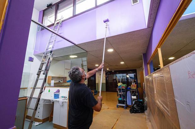 El Ayuntamiento de Sant Joan Despí pone a punto los centros educativos para el próximo curso