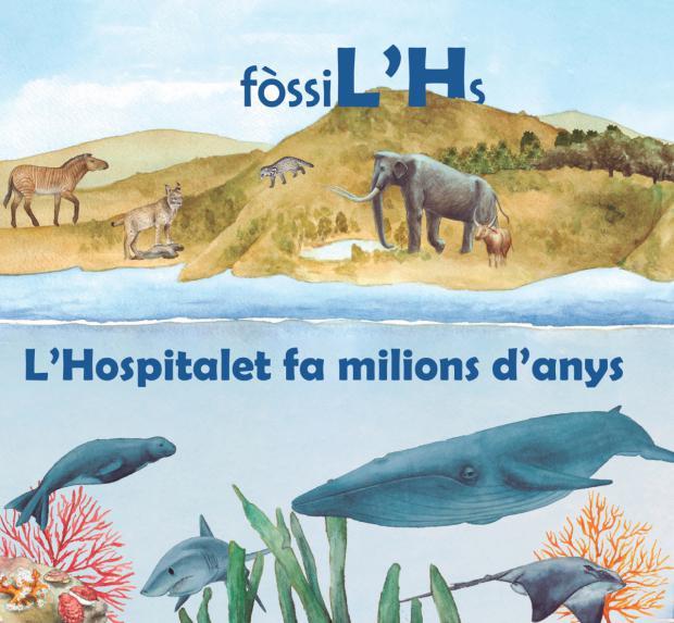 """La exposición """"FòssiL'Hs"""" se abrirá al público el próximo 7 de octubre en L'Hospitalet de Llobregat"""