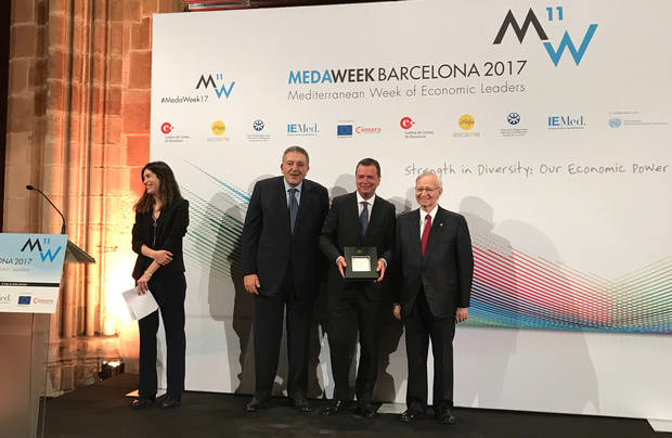 Mercabarna, premiada por medio siglo impulsando la Dieta Mediterránea