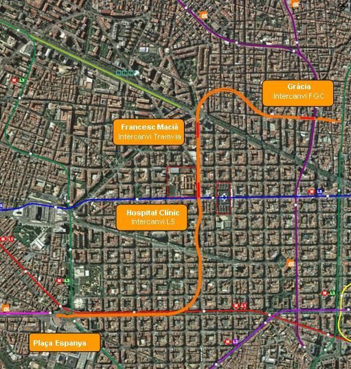 Territori adjudica la redacción del proyecto de conexión de la línea Llobregat-Anoia con la Barcelona-Vallès de FGC