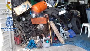Guardia Civil detecta siete empresas ilegales a las afueras de Molins de Rei que suman, además, una treintena de infracciones