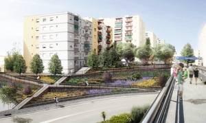 Sant Boi inicia la remodelación del acceso peatonal a Ciutat Cooperativa