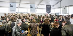 La FiraTapa de l'AGT supera les 9.000 tapes venudes a la Fira Avícola Raça Prat