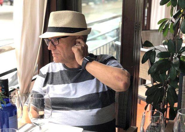 L'ambaixador Josep Maria Canalias Balletbó durant l'estiu de fa uns anys.