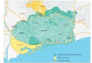 Zona de Baixes emissions (ZBE)