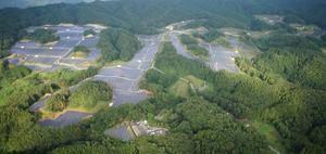Un parque solar de 35 hectáreas en Japón made in Cornellà